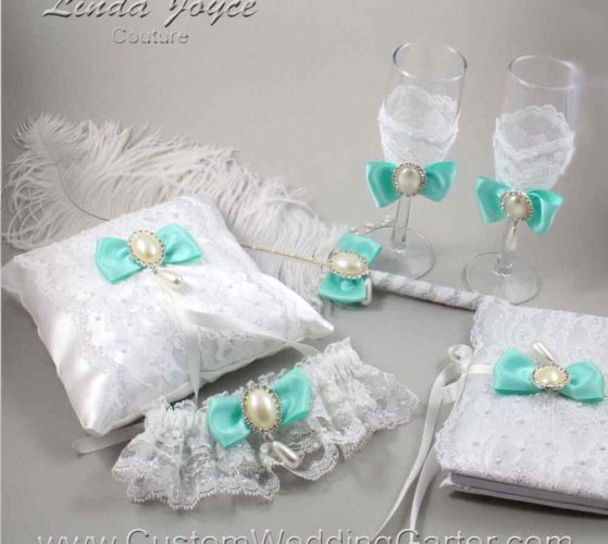 Candice Matheny-Leach Wedding Garters and Accessories
