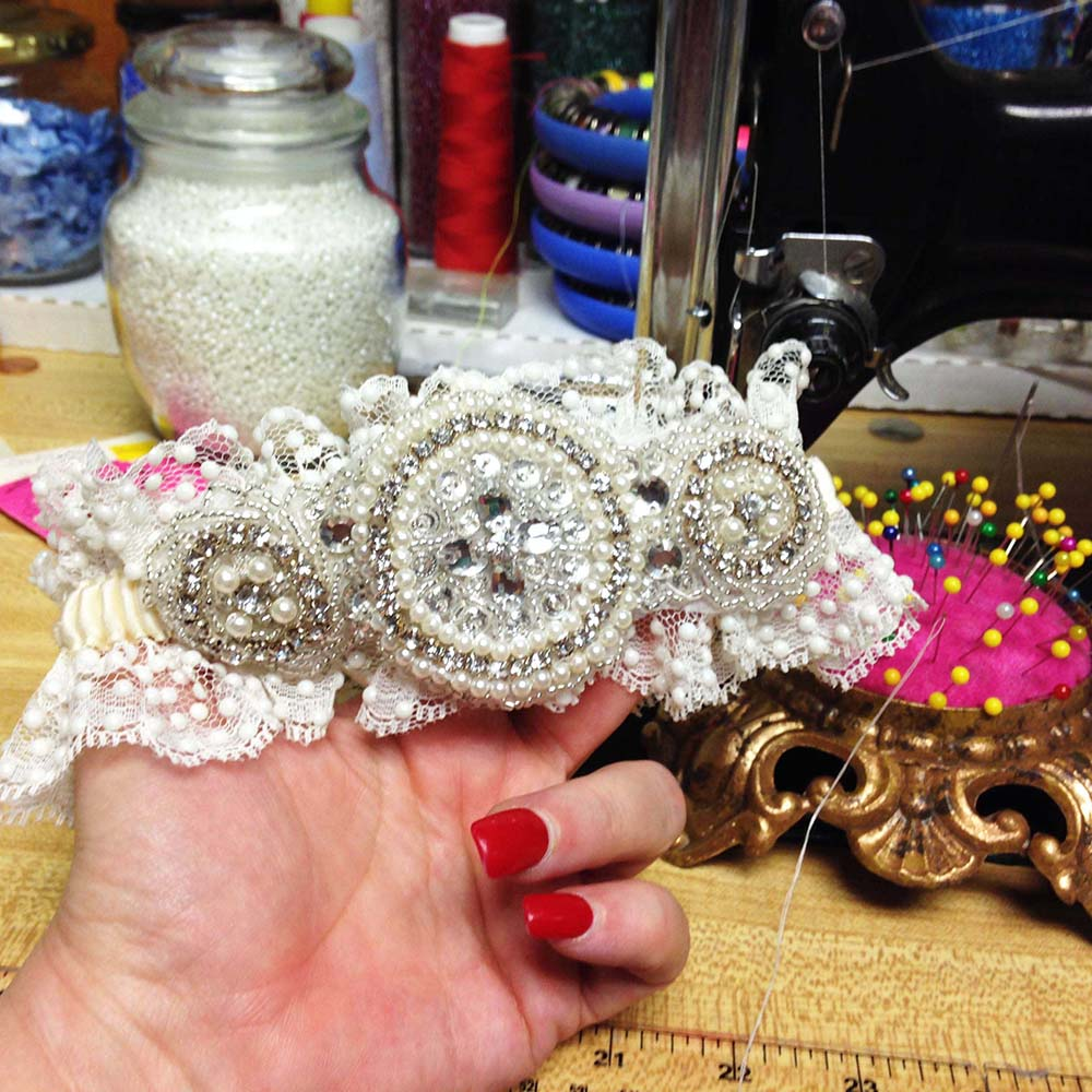 ICouture Wedding Garters-Linda Joyce Couture- Custom Wedding Garters