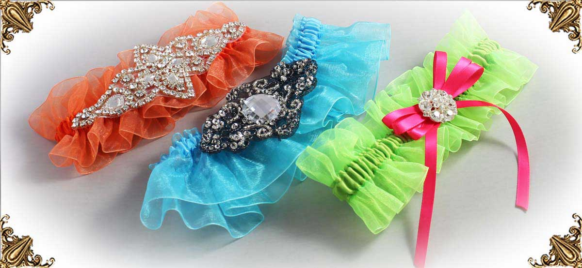 Organza-Wedding-Garters-Bridal-Garter-Prom-Garters-Custom-Wedding-Garter-Linda-Joyce-couture