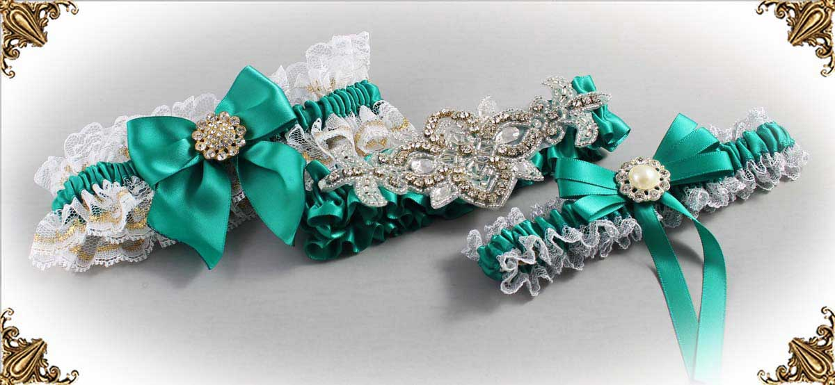 Parrot-Green-Wedding-Garters-583