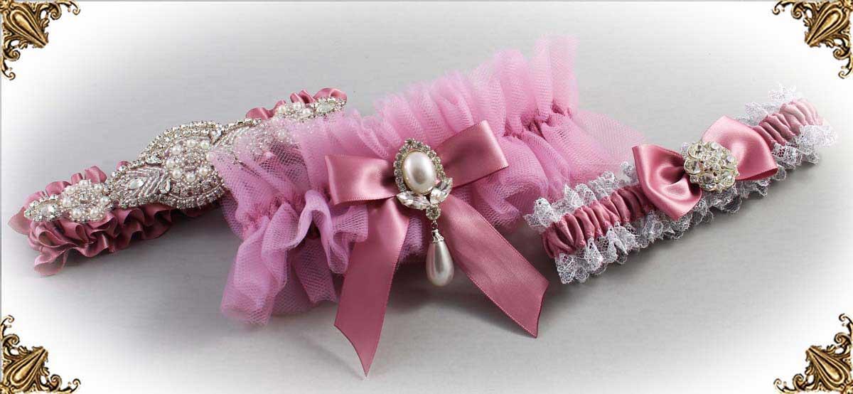 165-Rosy-Mauve-Wedding-Garters
