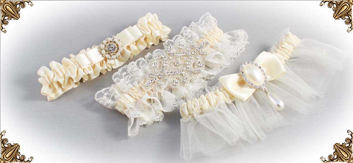 Ivory Wedding Garters 871-Bridal-Garters-Prom-Garters-Custom-Wedding-Garter-Linda-Joyce-Couture-Luxury-Bespoke-Bridal-Garters-Prom-Garters-Custom-Wedding-Garter-Linda-Joyce-Couture-Luxury-Bespoke