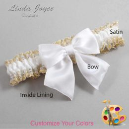 Customizable Wedding Garter / Kimberly #04-B01-00