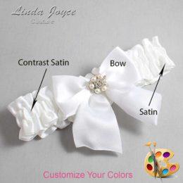 Customizable Wedding Garter / Naomi #01-B01-M23