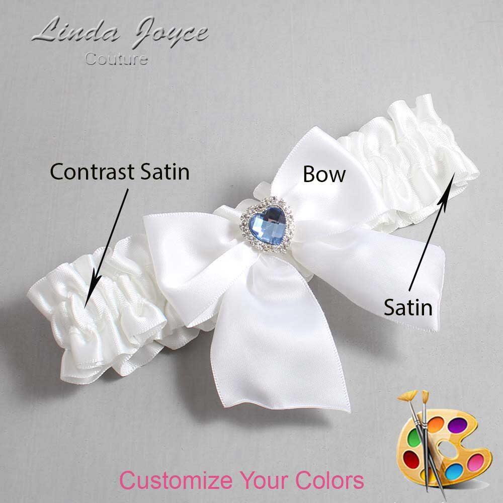 Customizable Wedding Garter / Kittie #01-B01-M25