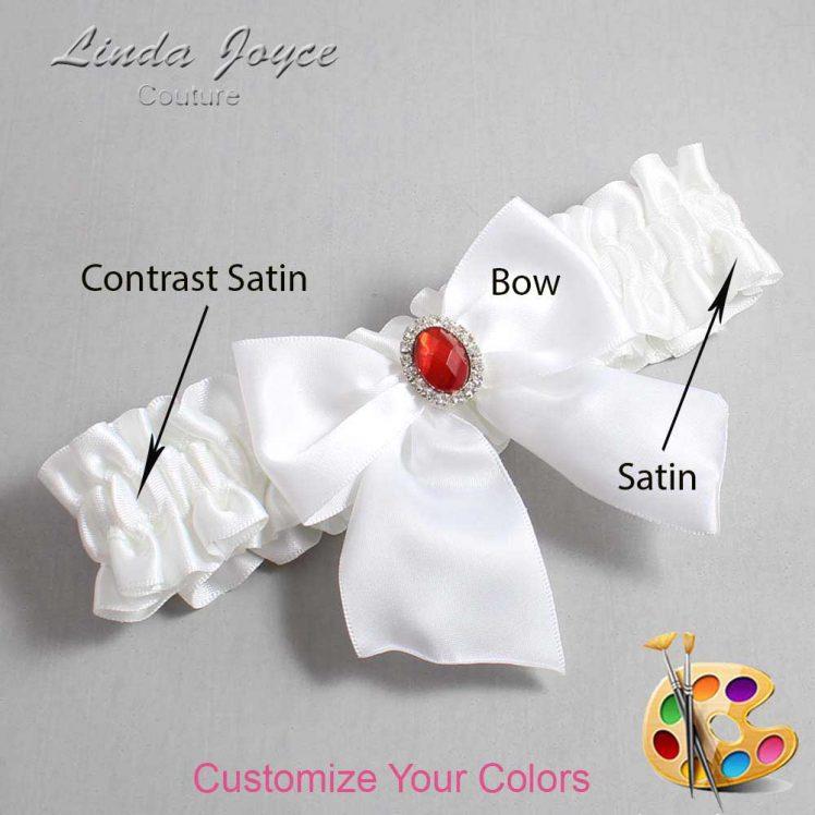 Couture Garters / Custom Wedding Garter / Customizable Wedding Garters / Personalized Wedding Garters / Danita #01-B01-M26 / Wedding Garters / Bridal Garter / Prom Garter / Linda Joyce Couture
