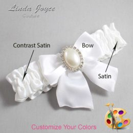 Customizable Wedding Garter / Maggie #01-B01-M31