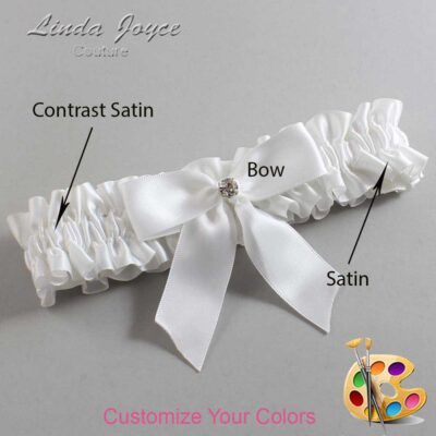 Customizable Wedding Garter / Rylee #01-B02-M04