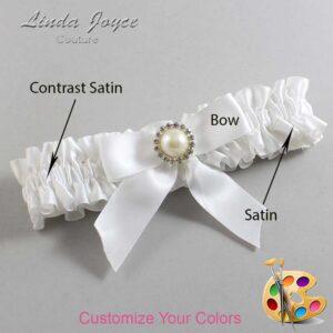 Couture Garters / Custom Wedding Garter / Customizable Wedding Garters / Personalized Wedding Garters / Rubie #01-B02-M22 / Wedding Garters / Bridal Garter / Prom Garter / Linda Joyce Couture