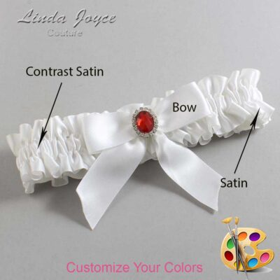 Couture Garters / Custom Wedding Garter / Customizable Wedding Garters / Personalized Wedding Garters / Nattie #01-B02-M26 / Wedding Garters / Bridal Garter / Prom Garter / Linda Joyce Couture