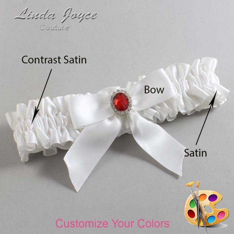 Couture Garters / Custom Wedding Garter / Customizable Wedding Garters / Personalized Wedding Garters / Nattie #01-B02-M26 / Wedding Garters / Bridal Garter / Prom Garter / Linda Joyce Couture
