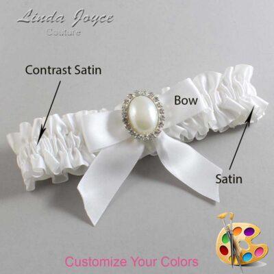 Customizable Wedding Garter / Missy #01-B02-M31