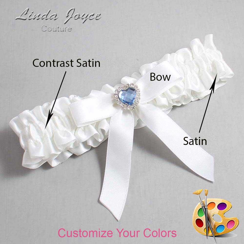 Customizable Wedding Garter / Gina #01-B03-M25
