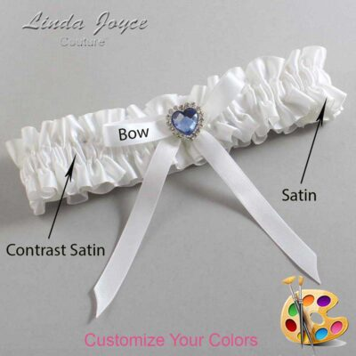 Customizable Wedding Garter / Dovie #01-B04-M25