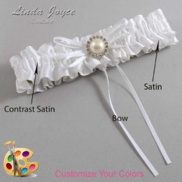 Customizable Wedding Garter / Faith #01-B10-M22
