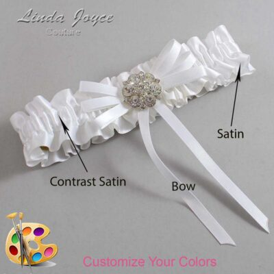 Couture Garters / Custom Wedding Garter / Customizable Wedding Garters / Personalized Wedding Garters / Autumn #01-B11-M11 / Wedding Garters / Bridal Garter / Prom Garter / Linda Joyce Couture