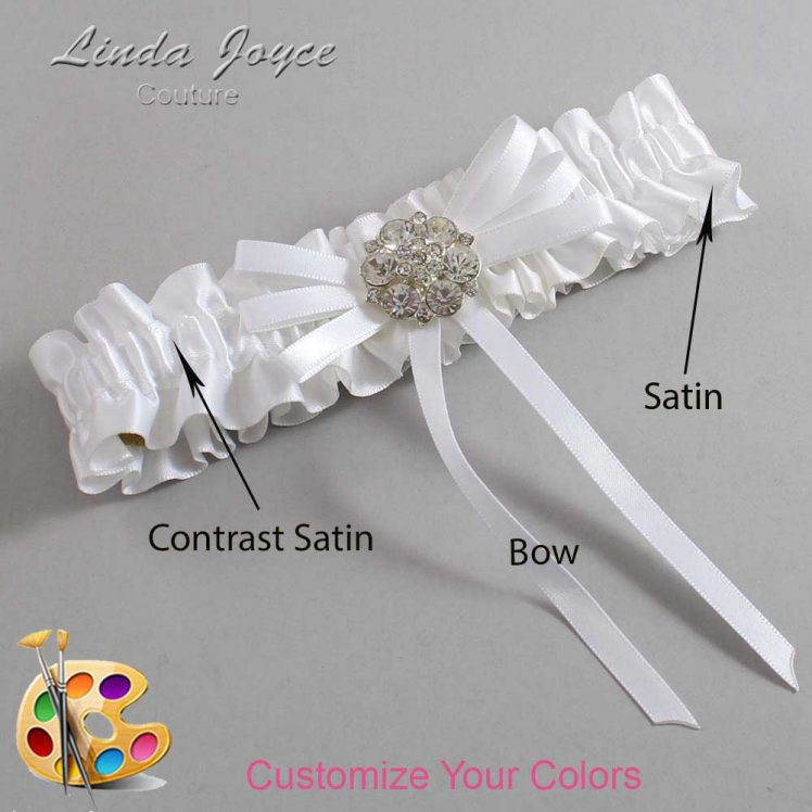 Couture Garters / Custom Wedding Garter / Customizable Wedding Garters / Personalized Wedding Garters / Autumn #01-B11-M11 / Wedding Garters / Bridal Garter / Prom Garter / Linda Joyce Couture