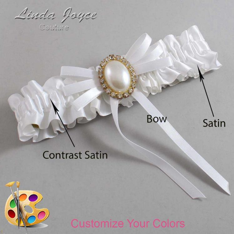 Couture Garters / Custom Wedding Garter / Customizable Wedding Garters / Personalized Wedding Garters / Felina #01-B11-M29 / Wedding Garters / Bridal Garter / Prom Garter / Linda Joyce Couture