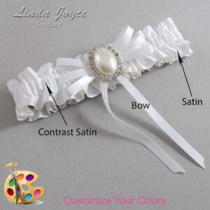 Couture Garters / Custom Wedding Garter / Customizable Wedding Garters / Personalized Wedding Garters / Felina #01-B11-M31 / Wedding Garters / Bridal Garter / Prom Garter / Linda Joyce Couture