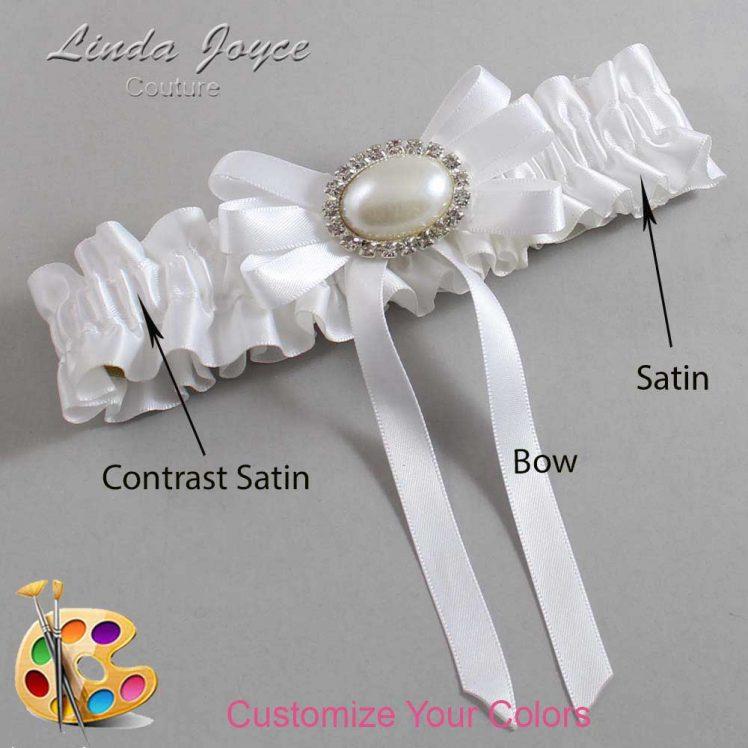 Couture Garters / Custom Wedding Garter / Customizable Wedding Garters / Personalized Wedding Garters / Velma #01-B12-M30 / Wedding Garters / Bridal Garter / Prom Garter / Linda Joyce Couture