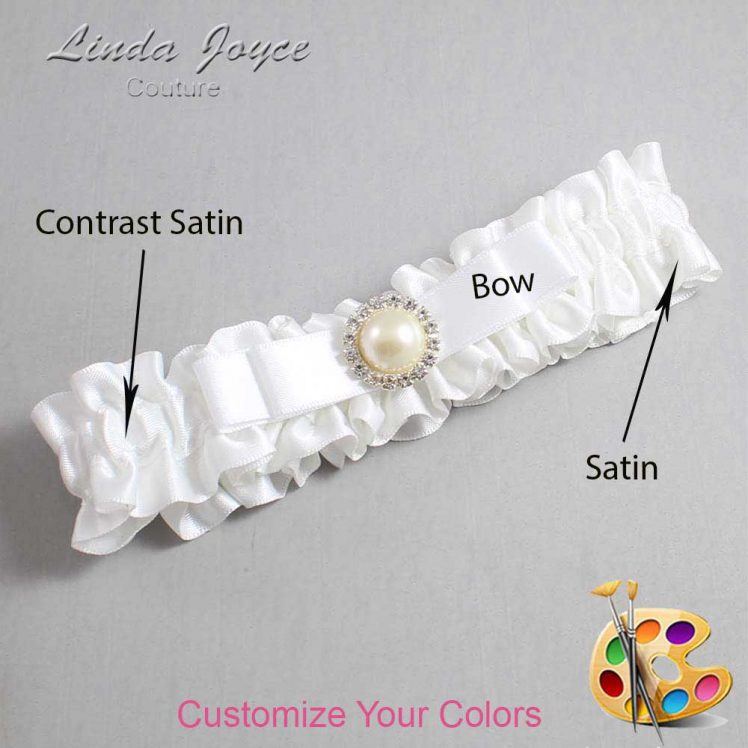 Couture Garters / Custom Wedding Garter / Customizable Wedding Garters / Personalized Wedding Garters / Jade #01-B20-M22 / Wedding Garters / Bridal Garter / Prom Garter / Linda Joyce Couture