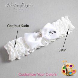 Customizable Wedding Garter / Jodi #01-B31-M03