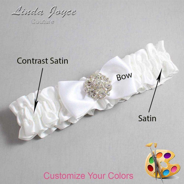 Couture Garters / Custom Wedding Garter / Customizable Wedding Garters / Personalized Wedding Garters / Michelle #01-B31-M11 / Wedding Garters / Bridal Garter / Prom Garter / Michelle Joyce Couture