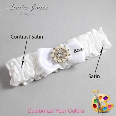Couture Garters / Custom Wedding Garter / Customizable Wedding Garters / Personalized Wedding Garters / Lollie #01-B31-M14 / Wedding Garters / Bridal Garter / Prom Garter / Lollie Joyce Couture