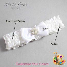 Customizable Wedding Garter / Kourtney #01-B31-M20