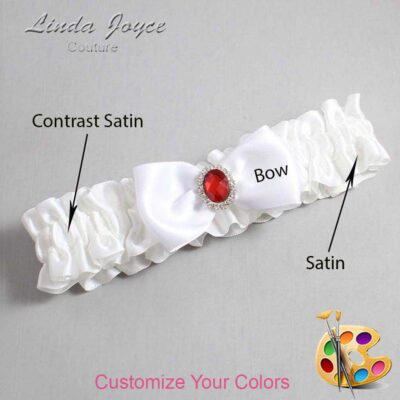 Couture Garters / Custom Wedding Garter / Customizable Wedding Garters / Personalized Wedding Garters / Gayla #01-B31-M26 / Wedding Garters / Bridal Garter / Prom Garter / Gayla Joyce Couture