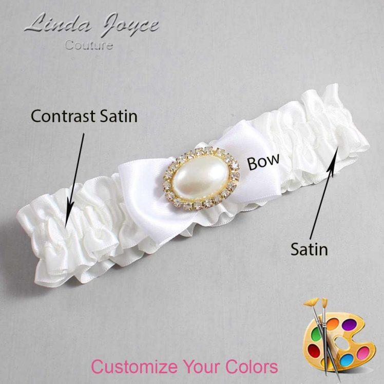 Couture Garters / Custom Wedding Garter / Customizable Wedding Garters / Personalized Wedding Garters / Juliette #01-B31-M28 / Wedding Garters / Bridal Garter / Prom Garter / Juliette Joyce Couture