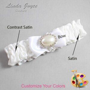 Couture Garters / Custom Wedding Garter / Customizable Wedding Garters / Personalized Wedding Garters / Juliette #01-B31-M30 / Wedding Garters / Bridal Garter / Prom Garter / Juliette Joyce Couture