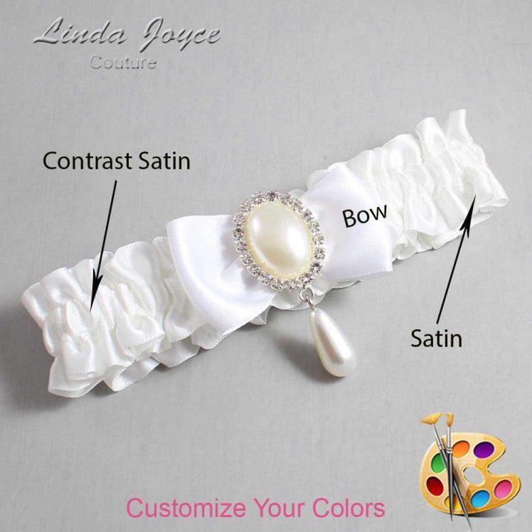 Couture Garters / Custom Wedding Garter / Customizable Wedding Garters / Personalized Wedding Garters / Meghan #01-B31-M35 / Wedding Garters / Bridal Garter / Prom Garter / Meghan Joyce Couture