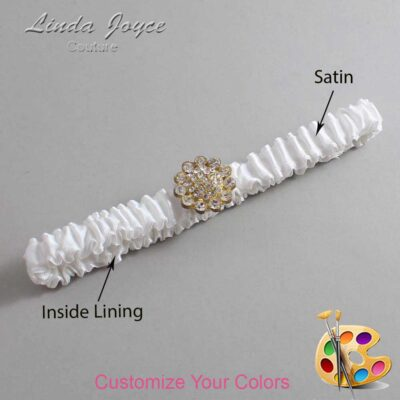 Couture Garters / Custom Wedding Garter / Customizable Wedding Garters / Personalized Wedding Garters / Lynnette #03-M12 / Wedding Garters / Bridal Garter / Prom Garter / Linda Joyce Couture
