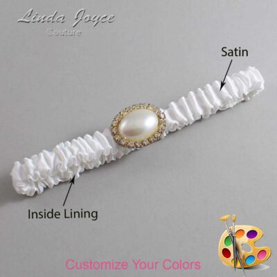 Couture Garters / Custom Wedding Garter / Customizable Wedding Garters / Personalized Wedding Garters / Jane #03-M28 / Wedding Garters / Bridal Garter / Prom Garter / Linda Joyce Couture