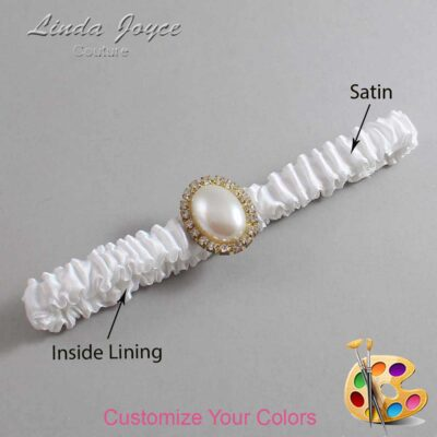 Couture Garters / Custom Wedding Garter / Customizable Wedding Garters / Personalized Wedding Garters / Halle #03-M29 / Wedding Garters / Bridal Garter / Prom Garter / Linda Joyce Couture
