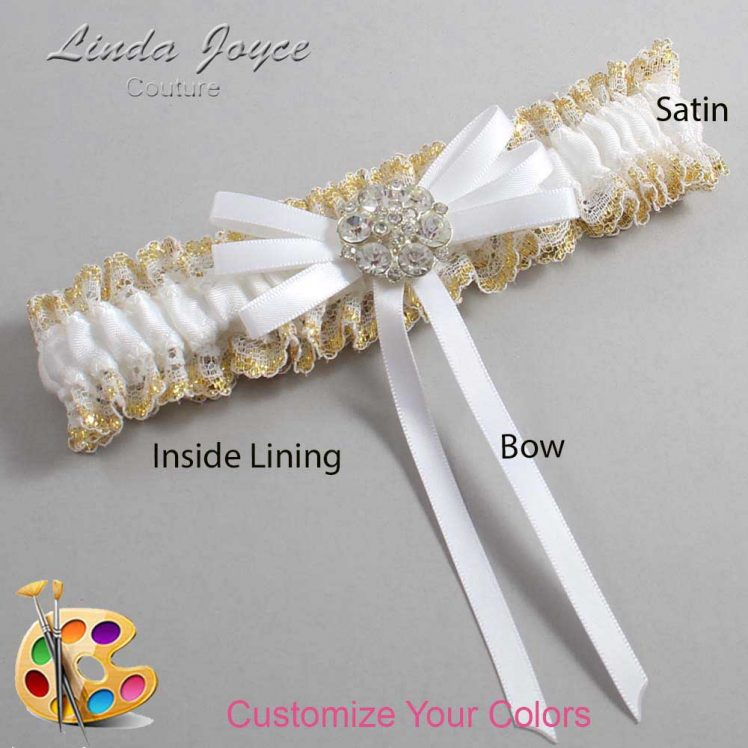 Couture Garters / Custom Wedding Garter / Customizable Wedding Garters / Personalized Wedding Garters / Autumn #04-B11-M11 / Wedding Garters / Bridal Garter / Prom Garter / Linda Joyce Couture