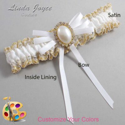 Couture Garters / Custom Wedding Garter / Customizable Wedding Garters / Personalized Wedding Garters / Felina #04-B11-M29 / Wedding Garters / Bridal Garter / Prom Garter / Linda Joyce Couture