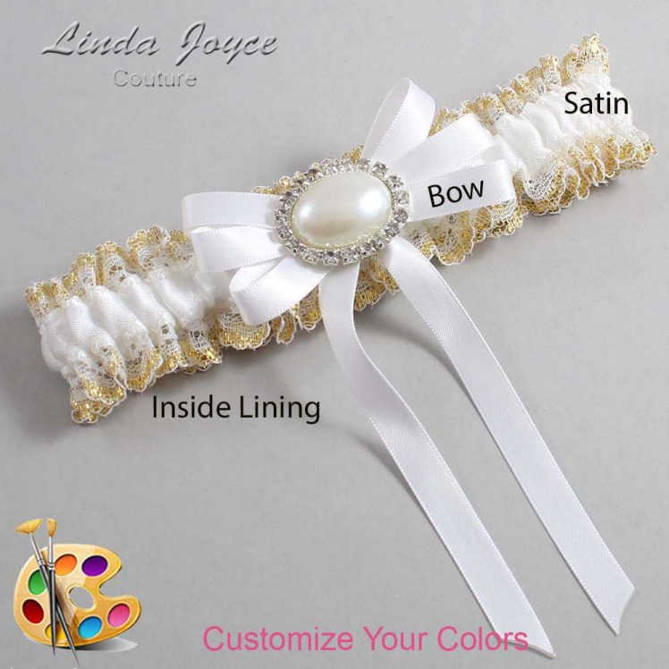 Couture Garters / Custom Wedding Garter / Customizable Wedding Garters / Personalized Wedding Garters / Velma #04-B12-M30 / Wedding Garters / Bridal Garter / Prom Garter / Linda Joyce Couture