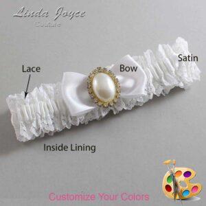 Couture Garters / Custom Wedding Garter / Customizable Wedding Garters / Personalized Wedding Garters / Mindy #06-B31-M29 / Wedding Garters / Bridal Garter / Prom Garter / Linda Joyce Couture