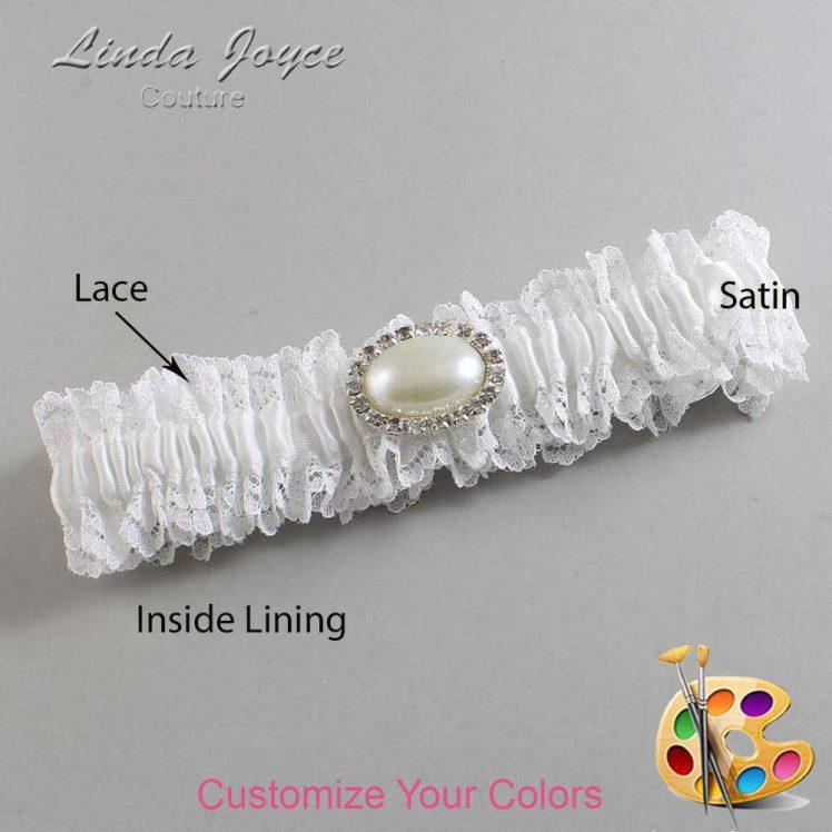 Couture Garters / Custom Wedding Garter / Customizable Wedding Garters / Personalized Wedding Garters / Jane #06-M30 / Wedding Garters / Bridal Garter / Prom Garter / Linda Joyce Couture