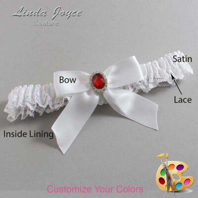 Couture Garters / Custom Wedding Garter / Customizable Wedding Garters / Personalized Wedding Garters / Nattie #09-B02-M26 / Wedding Garters / Bridal Garter / Prom Garter / Linda Joyce Couture