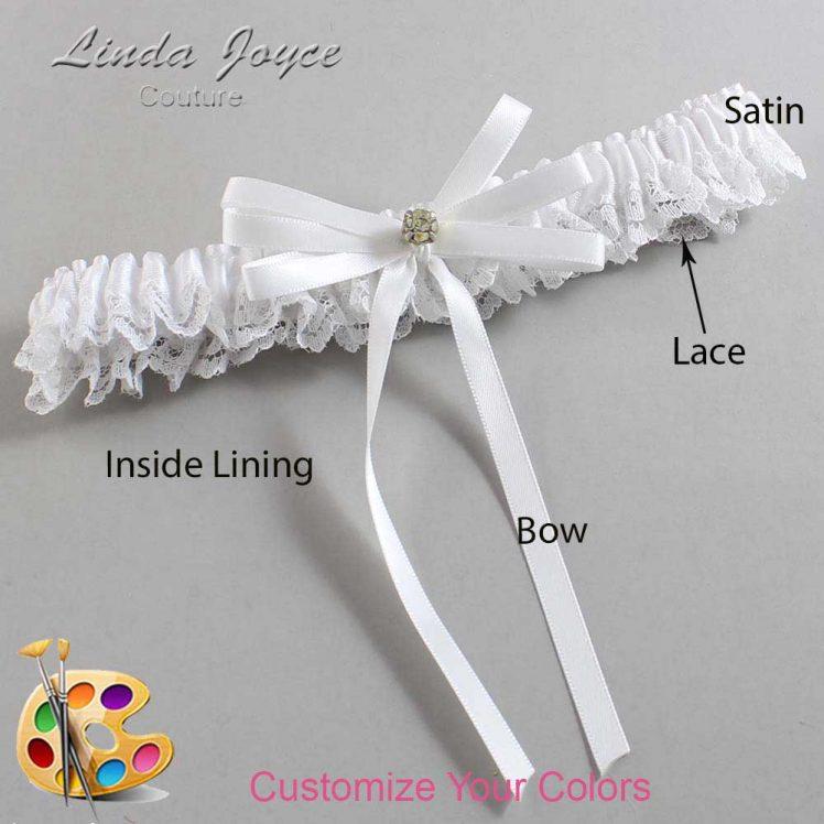 Couture Garters / Custom Wedding Garter / Customizable Wedding Garters / Personalized Wedding Garters / Audry #09-B11-M03 / Wedding Garters / Bridal Garter / Prom Garter / Linda Joyce Couture