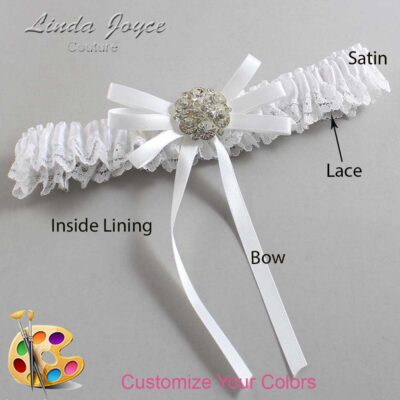 Couture Garters / Custom Wedding Garter / Customizable Wedding Garters / Personalized Wedding Garters / Autumn #09-B11-M11 / Wedding Garters / Bridal Garter / Prom Garter / Linda Joyce Couture