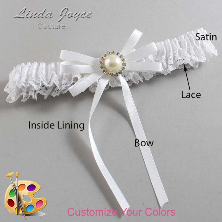 Couture Garters / Custom Wedding Garter / Customizable Wedding Garters / Personalized Wedding Garters / Delta #09-B11-M22 / Wedding Garters / Bridal Garter / Prom Garter / Linda Joyce Couture