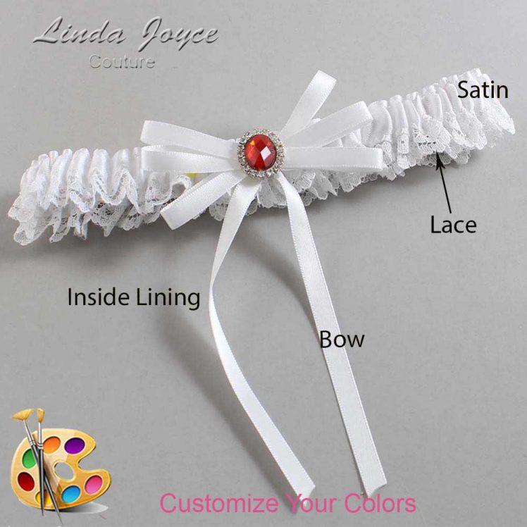 Couture Garters / Custom Wedding Garter / Customizable Wedding Garters / Personalized Wedding Garters / Elissa #09-B11-M26 / Wedding Garters / Bridal Garter / Prom Garter / Linda Joyce Couture