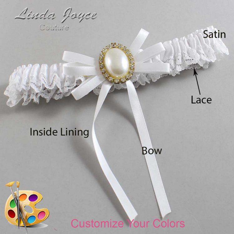 Couture Garters / Custom Wedding Garter / Customizable Wedding Garters / Personalized Wedding Garters / Felina #09-B11-M29 / Wedding Garters / Bridal Garter / Prom Garter / Linda Joyce Couture