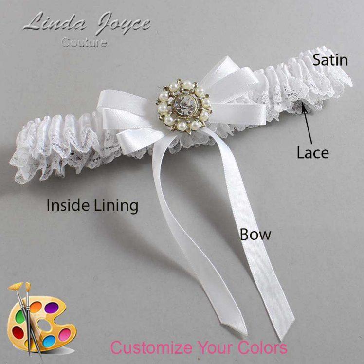 Couture Garters / Custom Wedding Garter / Customizable Wedding Garters / Personalized Wedding Garters / Robin #09-B12-M14 / Wedding Garters / Bridal Garter / Prom Garter / Linda Joyce Couture