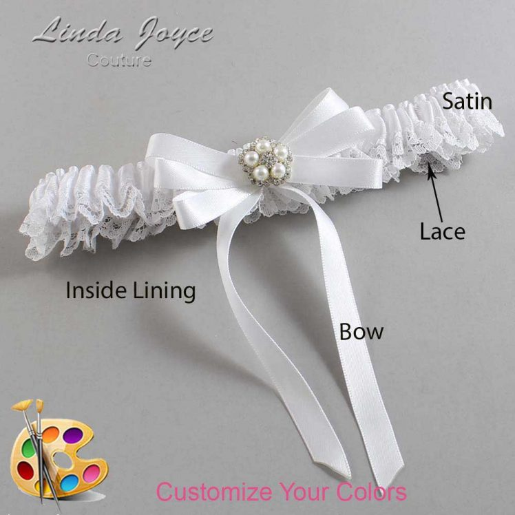 Couture Garters / Custom Wedding Garter / Customizable Wedding Garters / Personalized Wedding Garters / Candice #09-B12-M20 / Wedding Garters / Bridal Garter / Prom Garter / Linda Joyce Couture