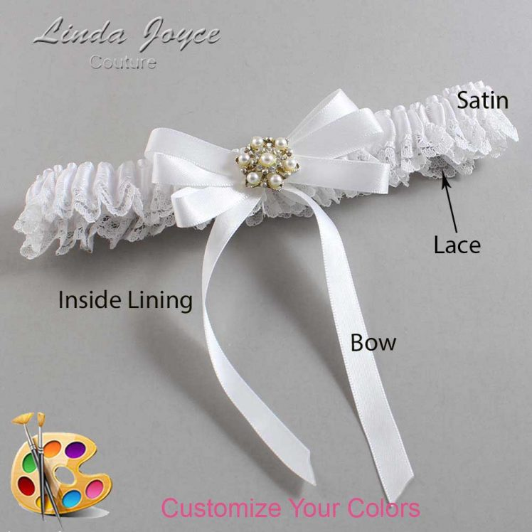 Couture Garters / Custom Wedding Garter / Customizable Wedding Garters / Personalized Wedding Garters / Savanah #09-B12-M27 / Wedding Garters / Bridal Garter / Prom Garter / Linda Joyce Couture